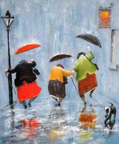 "ms-witchywebweaver: "" ufukorada: "" Dancing in the rain :) "" There's a few of you I'd tag in this because I could see us doing this. Dance Ladies, dance! Xoxo """