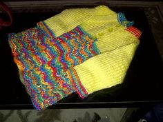 Knit from bottom up