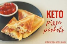 Dinner problems are solved!!! Easy recipe for keto pizza pockets that are gluten free and super filling. The famous mozzarella low-carb dough that will turn your world upside down. It is the Holy Grail of keto recipes.