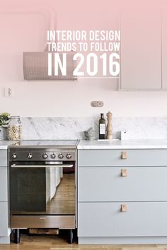 My Favourite Design Trends for 2016