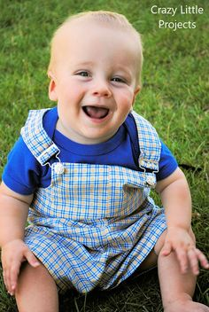 Baby Overalls - Crazy Little Projects
