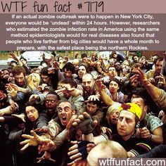 Zombies are everywhere from TV such as The Walking Dead on FOX+, video games and movies. Here's a look at the different types of zombies that the world is obsessed with. Wtf Fun Facts, Funny Facts, Zombies, Zombie Apocalypse Survival, No Way Out, Interactive Map, The More You Know, Film, Mind Blown