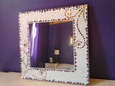 Espejo tecnica mosaiquismo venecitas y espejos mosaicos for Espejos artesanales