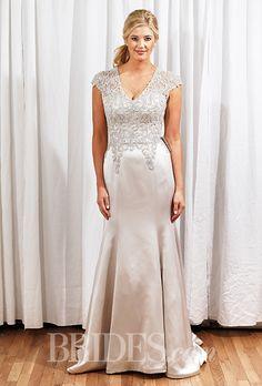 Brides: Justin Alexander - Fall 2015. Wedding dress by Justin Alexander