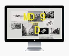 Logo and website designed by Two Times Elliott for interior and architecture firm MDD9