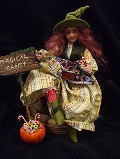 1:12 Miniature Witch