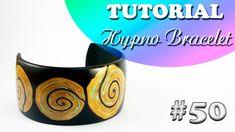 "✨Polymer clay tutorial: Hypno Bracelet✨Мастер-класс: ""Гипно Браслет"" из ..."