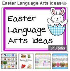 Easter Language Arts Ideas