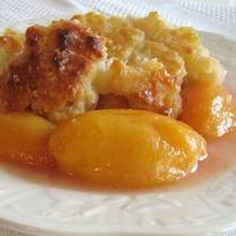 Peach Dumpling Dessert Recipe
