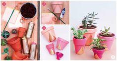 ¡Esta idea es perfecta para decorar tus espacios preferidos con un toque de color!