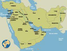 mapa da ásia ocidental e meridional - Pesquisa Google