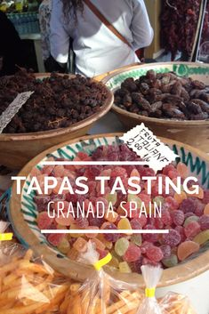 Tapas Tasting in Granada Spain. A fun thing to do when you're in Granada. Andalucia Spain, Granada Spain, Ibiza, All About Spain, Spain Travel Guide, Madrid, Spain And Portugal, International Recipes, Foodie Travel