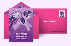 Plan a Twilight Sparkle Party!