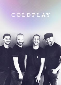 The laughing Coldplay by Anton Corbijn