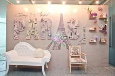 www.theweddingnotebook.com. Concept and décor by Storybook. Parisian-themed wedding
