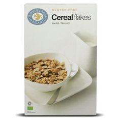 Cereal Flakes Organic & Gluten Free 375g | Doves Farm. Although, there is a bit of sugar and skimmed milk powder. If you know that you are intolerant to dairy, avoid this product or indulge once every now and then.