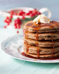Made with teff flour, these Hearty Gluten Free Vegan Pancakes will have you flipping for more.