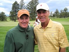 With Ben Crenshaw, my favorite pro golfer all time.
