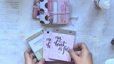 DIY notebooks and magnets with scrapbooking paper - Regalos scraperos: tutorial libretitas de notas e imanes - para PLAYSCRAP