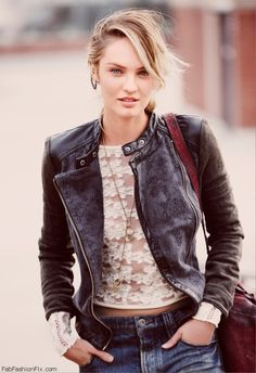 Candice Swanepoel for Free People 2014