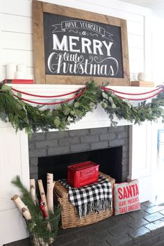 Farmhouse Christmas Home Tour - Beneath My Heart