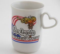 Vintage Olympics Cup Los Angeles 1984 Summer by TheTimelyTortoise