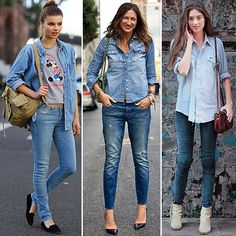 How to Pull Off Denim on Denim Like a Street-Style Pro