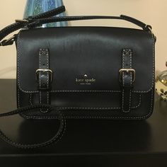 Kate spade crossbody. Has some scratches on leather, check pictures.   10x7x3 kate spade Bags Crossbody Bags