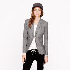 Schoolboy blazer in Italian wool flannel from JCrew featured in our Menswear video. Click http://www.lovesechoir.com/menswear-look/ to watch.