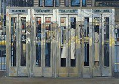 Telephone boxes - Richard Estes