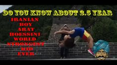 Do You Know About 2.5 Year Old Iranian Boy Arat Hoessini World Strongest...