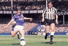 27 August 1988  Tony Cottee fires home his second against Newcastle