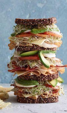 Triple Decker California Club Sandwich