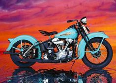 938 blue Harley Davidson Love it Need it.