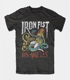 Iron Fist T-Shirts   Jon Contino