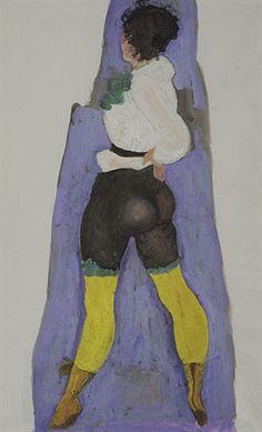 Painters, Austria, Portraits, Artist, Shoes, Woodland Forest, Culture, Poster, Painting Art