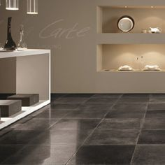 bij donkere tegels more huis keuken floors suelos flooring tiles tegel ...