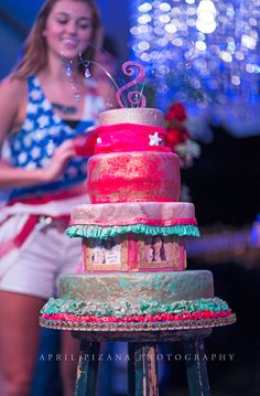 SADIe Robertson's Birthday cake, JUNK GYPSY Redneck RedCarpet party! Photography by April Pizana » duck dynasty cake