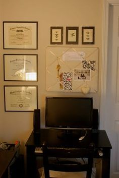 Streamlined Inexpensive Diploma Display For An Office Johnny And I Have Matching Monmouth Ones