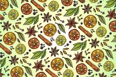 Spicy, Sweetly, Juicy. Patterns & Postcards on Behance