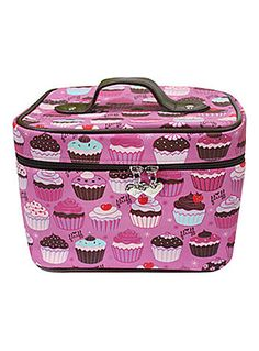 Sweet Cupcakes Train Case | PLASTICLAND