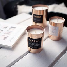 These @cocolux_australia candles definitely complement your dining experience.