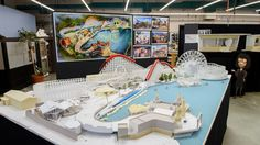 12 Days of Disney Parks Christmas: Working Model of Pixar Pier Shows Newly Themed Areas Coming Summer 2018 to Disney California Adventure Park Walt Disney Parks, Walt Disney Imagineering, Disney Parks Blog, Disney California Adventure Park, Park Resorts, Disney Theme, Disney Art, Disney Planning, Parking Design