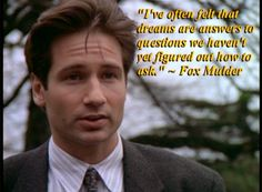 Mulder X-files quote