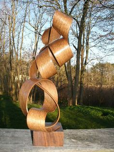 Hans Wegner Danish teak sculpture