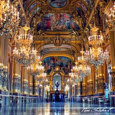Opéra Garnier, Paris #travel #france