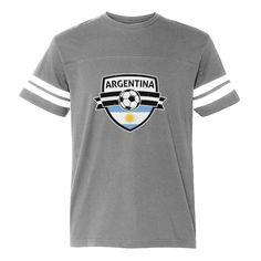4cfc0dc2187 Argentina Soccer Team Fans Football Jersey T-Shirt