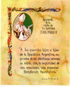 14 de Junio de 1982: Cese de  la Guerra del Atlántico Sur como fruto de la mediación Papal.