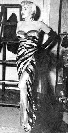Marilyn Monroe 1954 on set of The Seven Year Itch