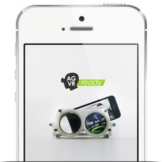 Altergaze Head Mounted Display iPhone